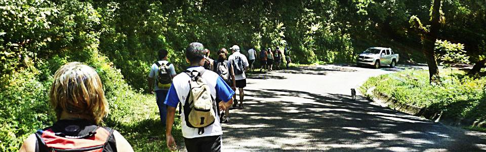 caminatas-trekking en San javier - Loma Bola Parapente